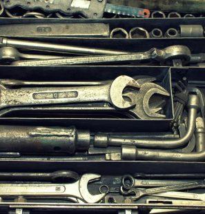 Werkzeuge im Onlineshop