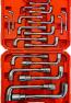 19 Tlg Radmutterschlüssel Radschlüssel Steckschlüssel Teleskop